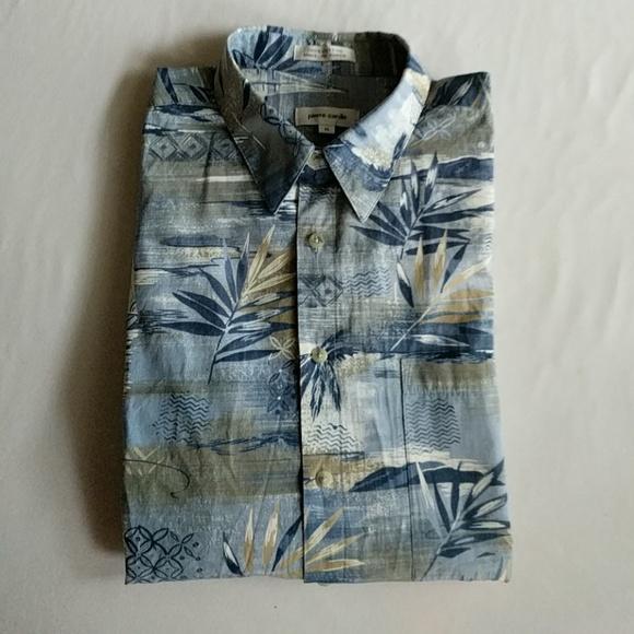75434fd30 Pierre Cardin Men's Aloha Shirt XL. M_5bf1e4ba9fe4861be79d427c